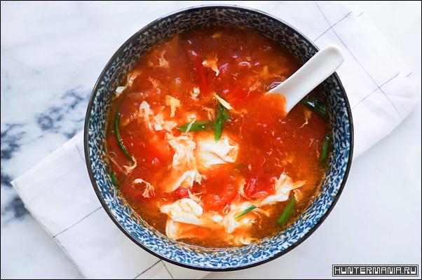 Яичный суп (рецепт)